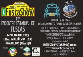 Convite FuscaShow 2015