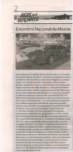 4º ENCONTRO NACIONAL DE MIURAS