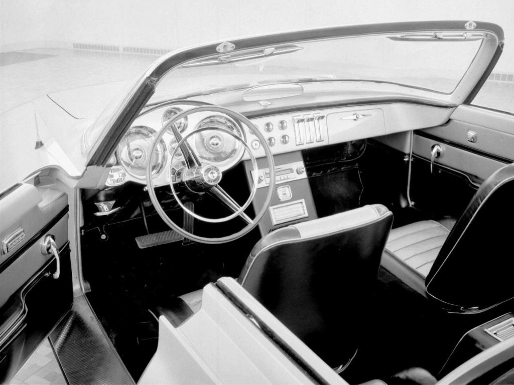 Ghia Chrysler Dart Concept Interior
