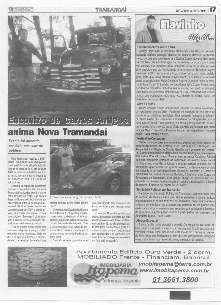Encontro em Nova Tramandaí 23 02 2014 (1)
